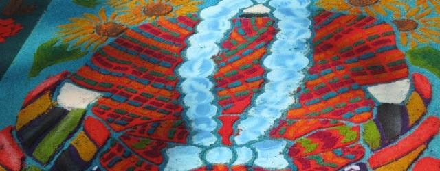 Easter semana santa Antigua guatemala alfombra reservations