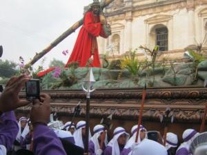 Easter procession Antigua Guatemala