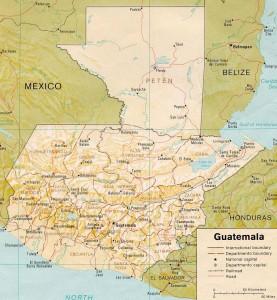 Guatemala Map - Guatemala Reservations
